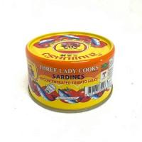 3lady Sardine in tomato sauce 190g