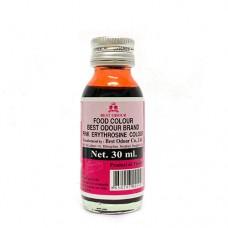 Best Odour Food Colour PINK 30ml สีผสมอาหาร สีชมพู