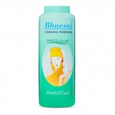 Bhaesat cooling powder green 200g  แป้งเย็นเภสัช สีเขัยว