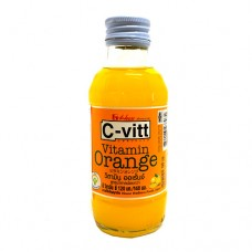 C-VITT Orange Drink +C 140 ML เครื่องดื่มวิตะมินซี รสส้ม ตราซีวิท