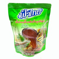 น้ำก๋วยเตี๋ยวสำเร็จรูปเข้มข้น Fathai Concentrated Noodle Soup (Brown Soup) 350g