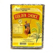 Golden Choice Black Glutinous Rice 1kg ข้าวเเหนียวดำ 1 กก. ตราโกลเด้นช้อยส์