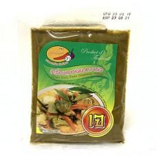Khun Nan Vegetarian Green Curry Paste 100g เครื่องแกงเขียวหวานเจ ตราคุณนันท์ 100 กรัม