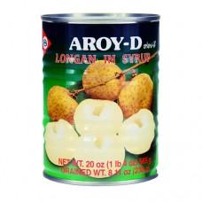 Aroy-D Longan in syrup 230g ลำไยในน้ำเชื่อม ตราอร่อยดี