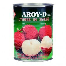 Aroy-D Lychee in syrup 230g ลิ้นจี่ในน้ำเชื่อม ตราอร่อยดี