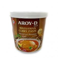 Aroy-D Massaman Curry Paste 400g เครื่องแกงมัสมั่น ตราอร่อยดี