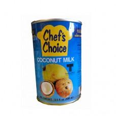 Chef's Choice Creamy  Coconut Milk 400ml กะทิเข้มข้นตราเชฟสช้อยส์ 400 กรัม