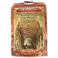 Khan's Basmatic rice Sella 5kg