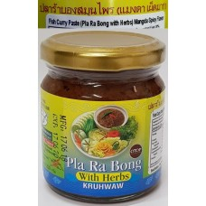Pla Ra Bong mangda mild hot Kruhwaw 200g